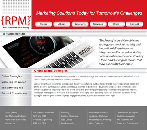 RPM Website Design